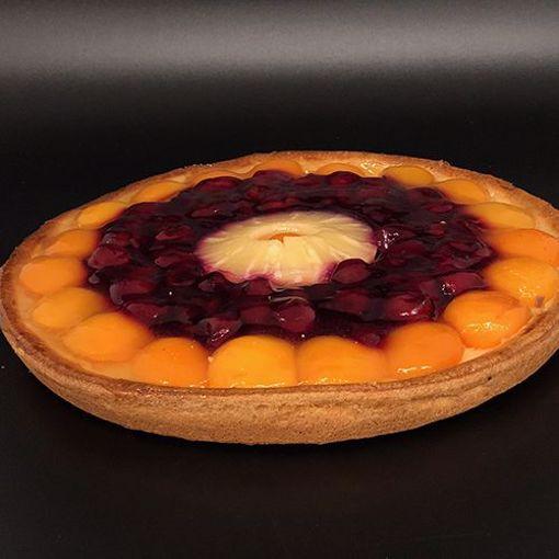 Afbeelding van Gemengd fruit groot slagroom