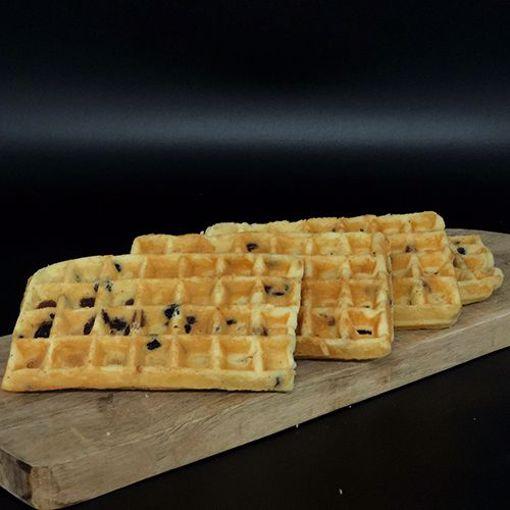 Afbeelding van Cakewafels rozijnen 4st.