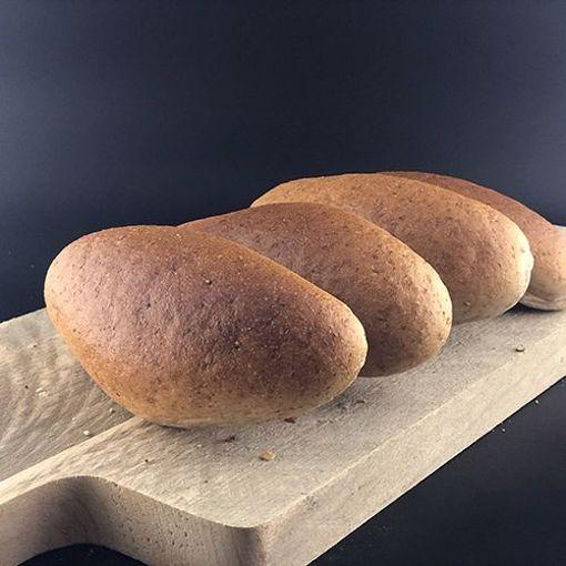 Afbeelding van Half hard grijs broodje