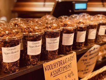 Afbeeldingen van granola Kokos-Chocolade